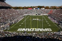Spartan Stadium, Michigan State University Fine Art Print