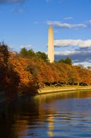 Reflection Of Monument On The Water, The Washington Monument, Washington DC Fine Art Print