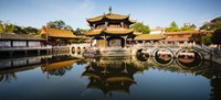 Yuantong Buddhist Temple, Kunming, China Fine Art Print