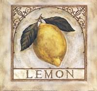 """Fancy Lemon by Richard Henson - 9"""" x 9"""""""