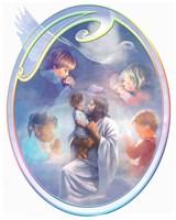 Jesus Loves Children Fine Art Print
