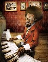The Pianist Fine Art Print