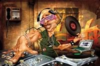 DJ Frank Fine Art Print