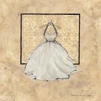 Take Me Dancing IV (white) Fine Art Print