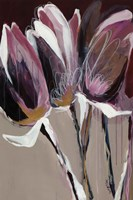 Aubergine Splendor I Fine Art Print