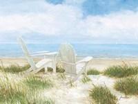 Beach Chairs Fine Art Print