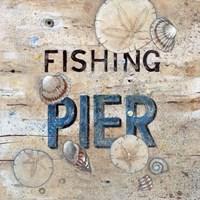 Fishing Pier Fine Art Print