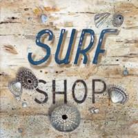 Surf Shop Fine Art Print