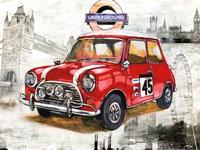 British Car Fine Art Print