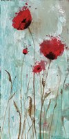 Splash Poppies II Fine Art Print