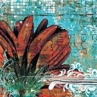 Graffiti Gerbera Fine Art Print