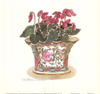 "Pretty in Pink I by Charlene Winter Olson - 9"" x 9"""