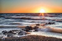 Sunset at Blue Point Fine Art Print