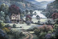 Country Manor Fine Art Print