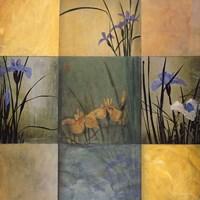 Iris Nine Patch Fine Art Print