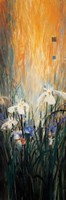 Golden Winged Garden I Fine Art Print