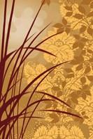 Golden Flourish I Fine Art Print