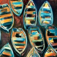 Boat Pods Fine Art Print