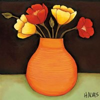 Flores Coloridas II Fine Art Print