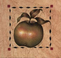 Stenciled Apple I Fine Art Print
