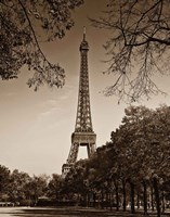An Afternoon Stroll - Paris II Fine Art Print