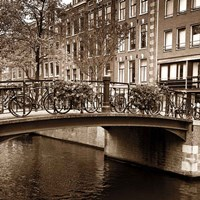 Autumn in Amsterdam III Fine Art Print