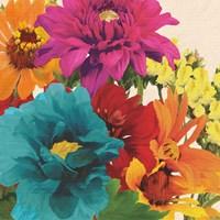 Pop Art Flowers II Fine Art Print