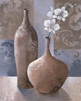 Silver Orchids I Fine Art Print