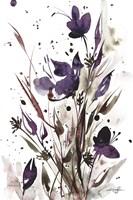 Floral Music I Fine Art Print