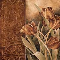 Copper Tulips I Fine Art Print