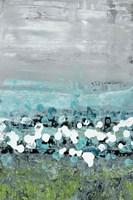 Aqua Motion Fine Art Print