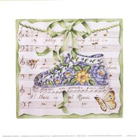 "Sweet Music II by Mariapia & Marinella Angelini - 9"" x 9"""