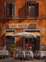 Cafe Roma Fine Art Print