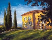 A Rural Villa Fine Art Print