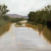 River Journey Fine Art Print