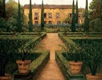 Garden Manor Fine Art Print