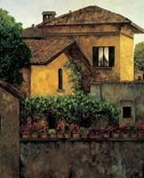 Golden Villa Fine Art Print