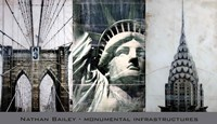 Monumental Infrastructures Fine Art Print