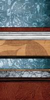 Pillars of Pattern I Fine Art Print