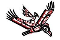 Eagle And Crow Fine Art Print
