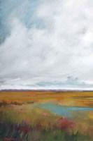 Sunset Over The Marsh I Fine Art Print
