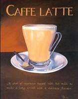 Urban Caffe Latte Fine Art Print