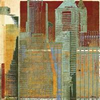 Urban Blocks I Fine Art Print