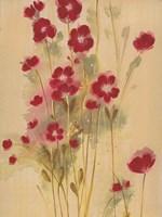 Crimson Elegance Fine Art Print