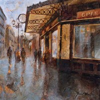 Gran Cafe Fine Art Print