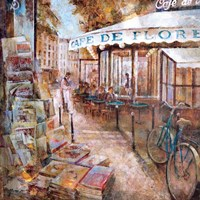 St.Germain, Paris Fine Art Print