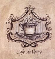 Cafe De Venice Fine Art Print