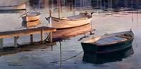 Barques al Port Fine Art Print
