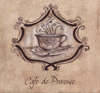 Cafe De Provence Fine Art Print