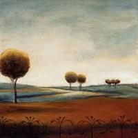 Tranquil Plains I Fine Art Print